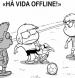 Há vida offline